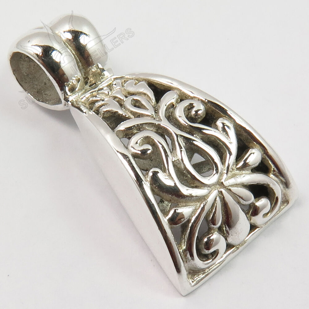925 Solid Sterling Silver Designer Jewelry Classic Art Tribal Ethnic Pendant  eBay