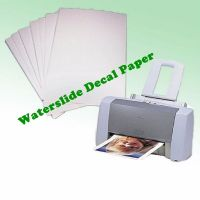 A4 Waterslide Transfer/Decal Paper Inkjet/Laser Printer ...