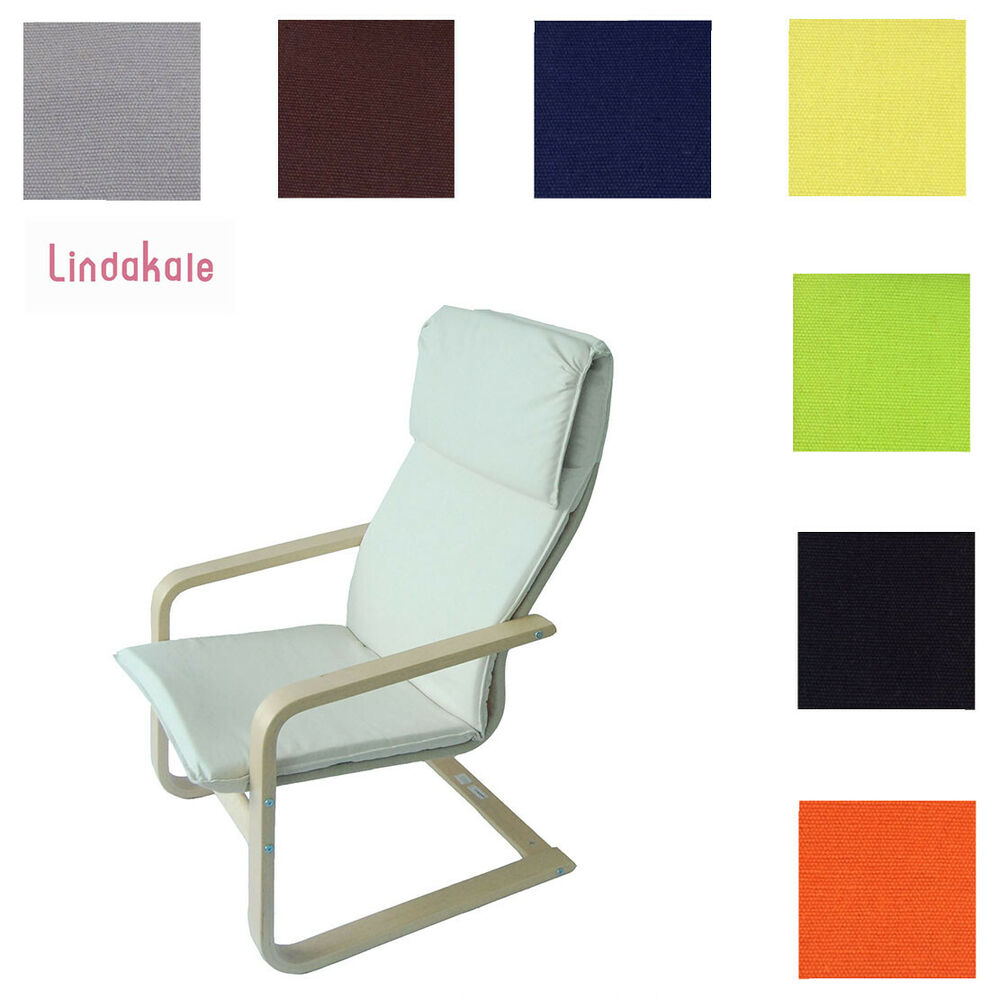 ikea poang chair covers where to buy beach chairs custom made cover, fits pello chair, replace armchair 9 choices | ebay