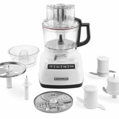 Kitchen Aid Attachment Tile Flooring New Kitchenaid Kfp0933wh 9-cup Food Processor With Exact ...