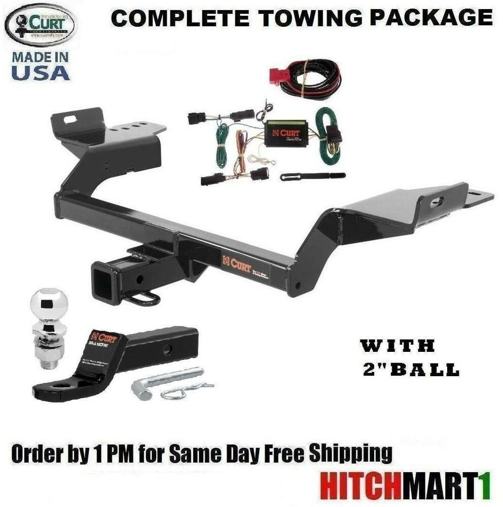 hight resolution of fits 2013 2016 ford escape class 3 curt trailer hitch package w 2