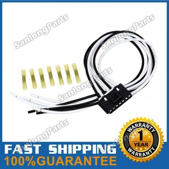 7 Wire Pigtail Blower Motor Resistor Plug Connector For Chevy GMC