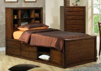 TERRIFIC MODERN TWIN CAPTAIN'S STORAGE CHEST BED YOUTH ...
