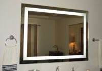 Lighted bathroom vanity mirror, led , wall mounted, Hotel