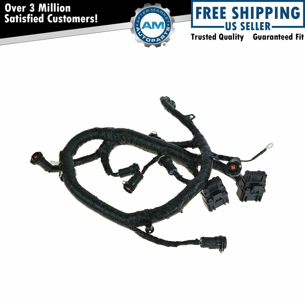 hight resolution of oem fuel injector wiring harness for 05 07 ford diesel 7 pin trailer wiring harness ford trailer hitch wiring diagram