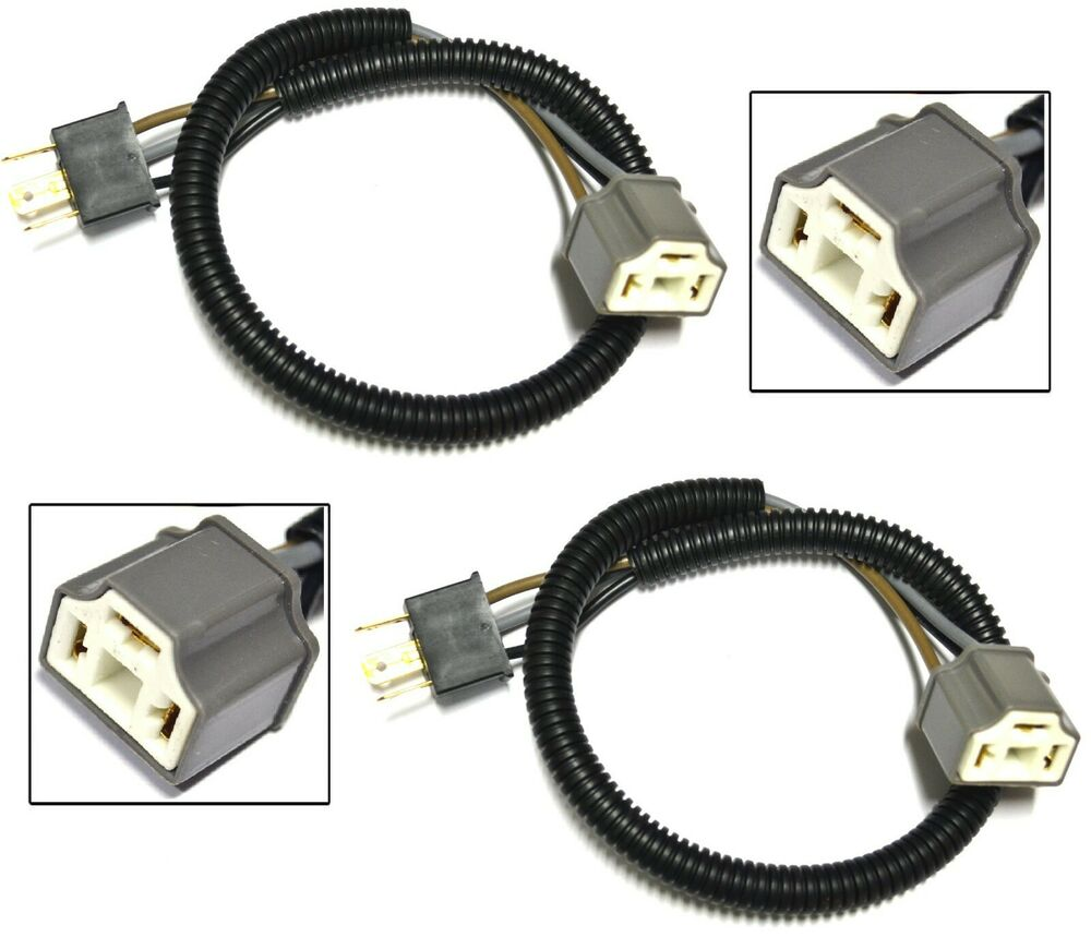 About H4 9003 Heavy Duty Ceramic Wire Wiring Headlight Harness Socket