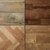 Wood Stained Dark Aged Plank Effect Brand New High Quality ...