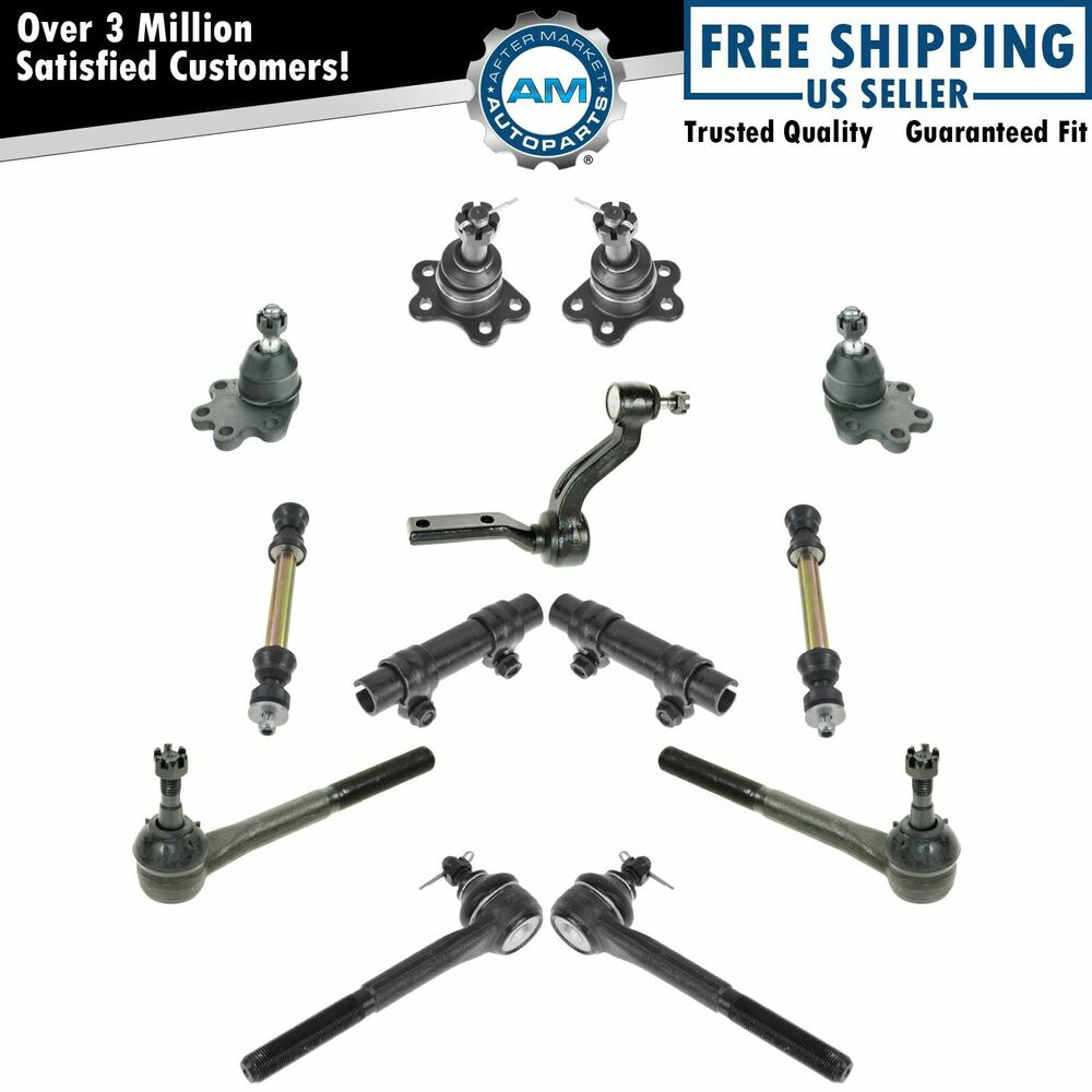 Front Suspension Ball Joints Tie Rods Set of 13 for 88-92