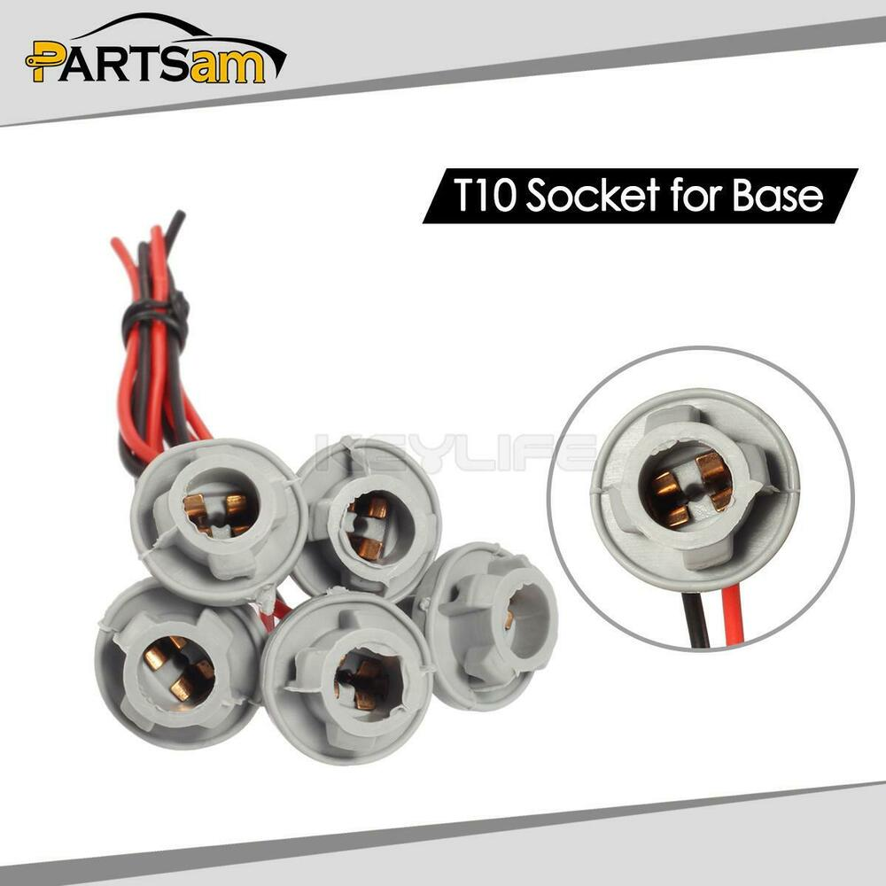 hight resolution of details about 5xt10 female plug wiring harness sockets wire for top clearance cab marker light