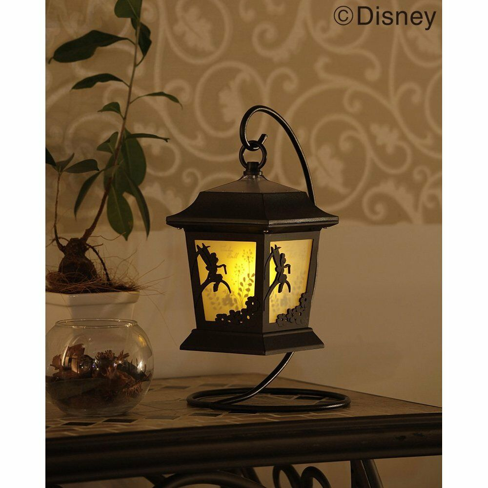 hight resolution of details about tinker bell solar lantern garden light lamp without wiring from japan