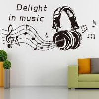 MUSIC NOTES PLAY WRITE Wall Sticker Removable Home Mural ...