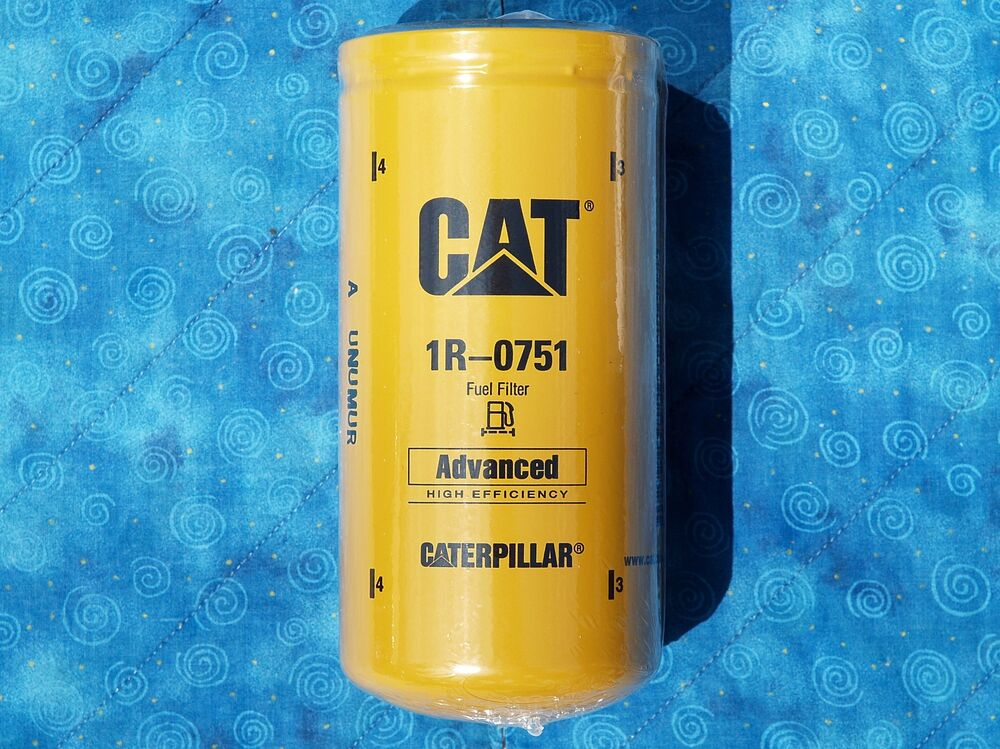 1 New Cat 1r Fuel Filter Sealed Made In Usa