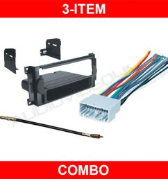 2005 2007 jeep grand cherokee stereo radio dash kit wire stereo wiring harness 2006 porsche boxster stereo wiring diagram 2006 ford explorer [ 1000 x 1000 Pixel ]