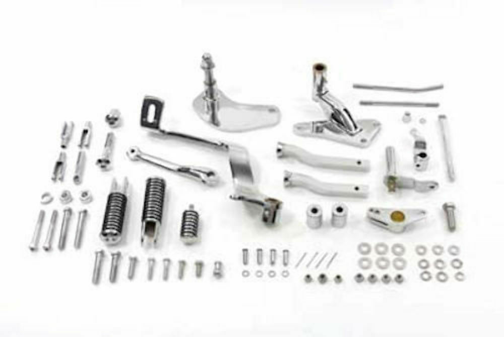 Chrome Forward Controls Control Kit Footpegs Foot Pegs 91