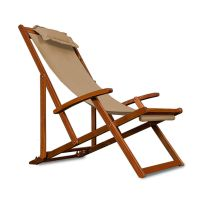 Wooden Folding Garden Deck Chair Made Of Acacia Hardwood ...