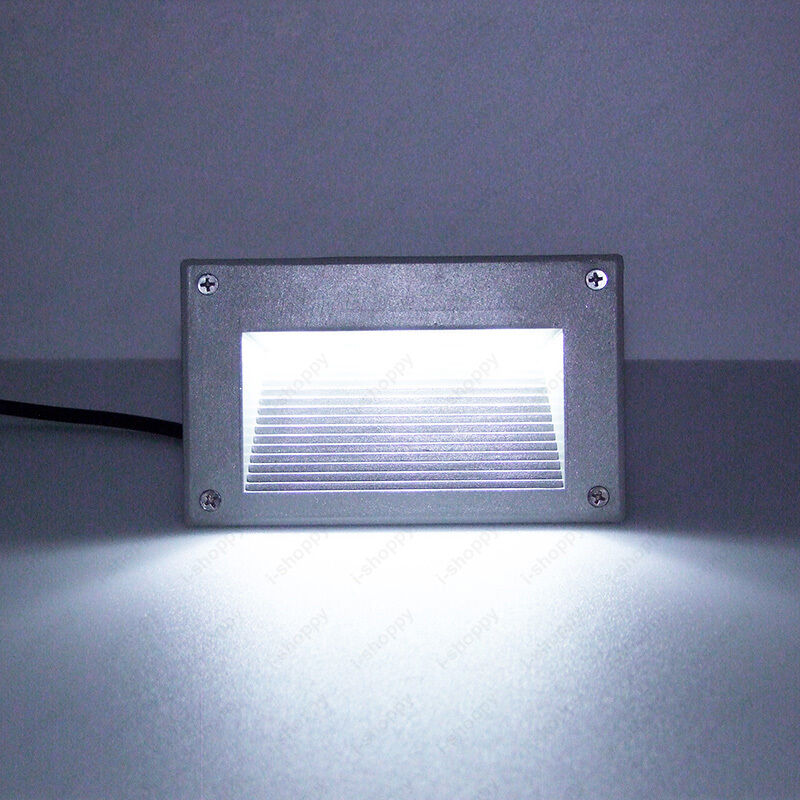 3W LED Outdoor Wall Spot Light Decor Recessed Steps Lamp