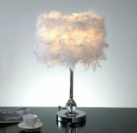 Feather Fest Table Lamp | eBay