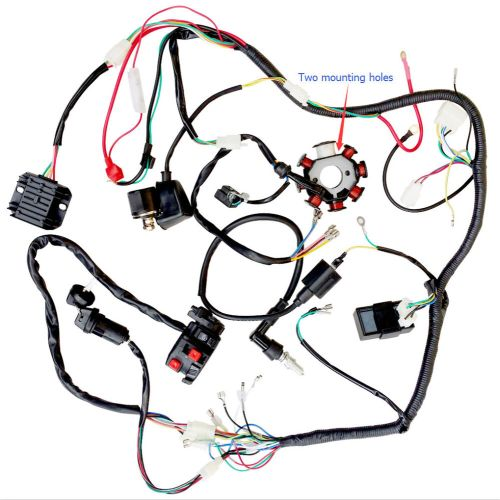 small resolution of complete electrics atv quad 200cc 250cc cdi wire harness zongshen lifan us stock ebay