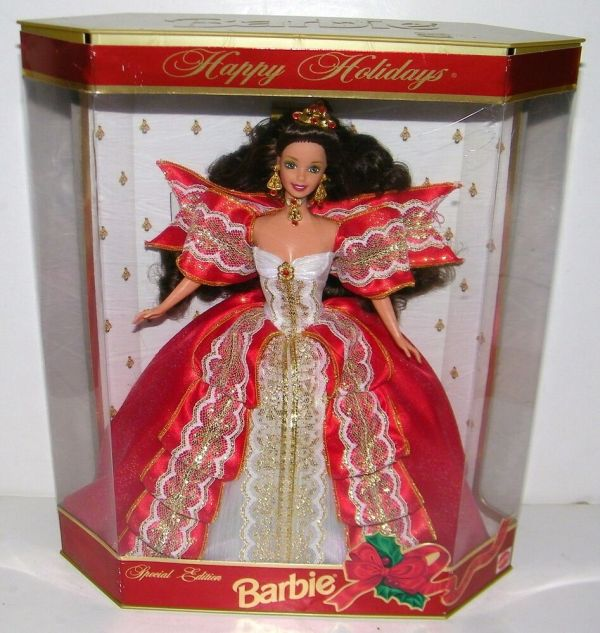 Mattel Barbie Special Edition 1997 Happy Holidays Doll