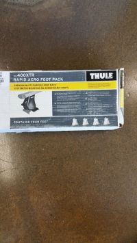 Thule Rapid Aero Foot Pack for Roof Rack #400XTR | eBay
