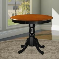 36 Inch Round Kitchen Table Quality Brand Cabinets Antique 36