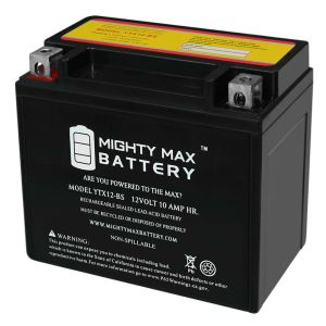Mighty Max YTX12BS Battery for HONDA TRX250 FourTrax
