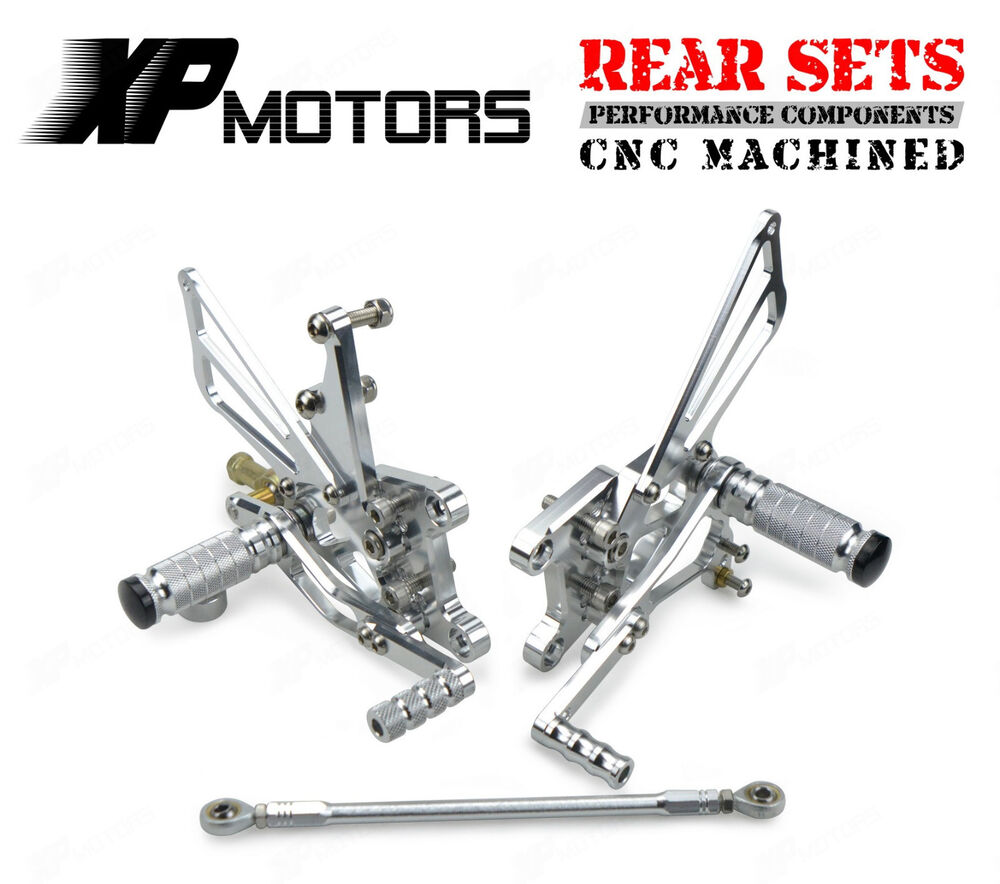 Adjustable Rearset Rear Sets For Triumph T509 Speed Triple