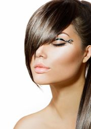 fringe hair style poster a1 a2