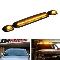 3pc Smoked Cab Roof Marker Running Lights For Truck SUV ...