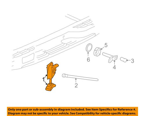 small resolution of details about gm oem spare tire carrier spare carrier 19259450