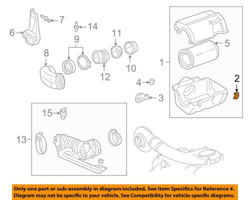 small resolution of details about gm oem air cleaner intake air cleaner clip 25043286