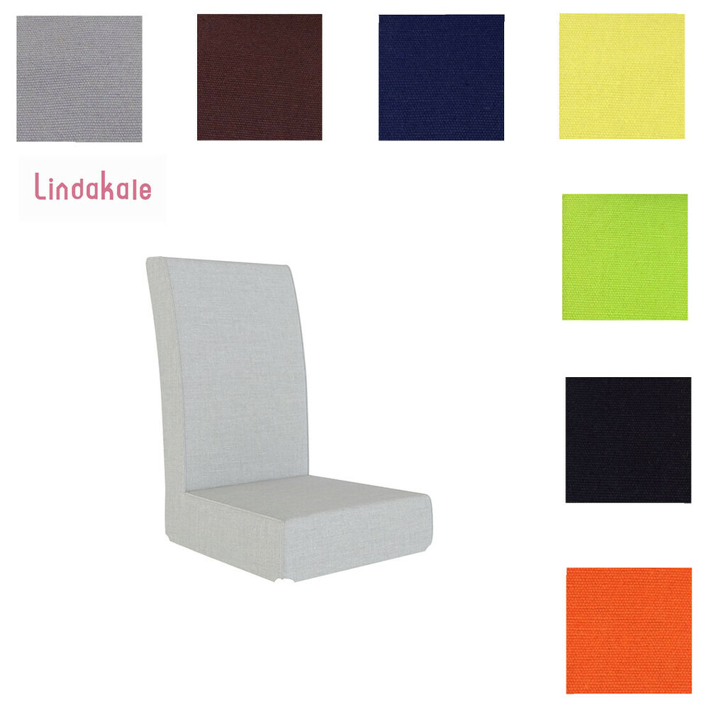chair slipcovers ikea vehicle lifts for power wheelchairs custom made cover fits henriksdal chair, replace | ebay