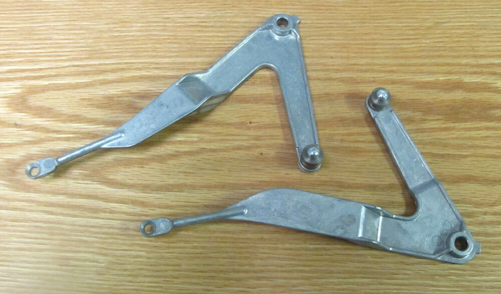 55 Chevy Heater Control Levers New 1955 Chevrolet Ebay