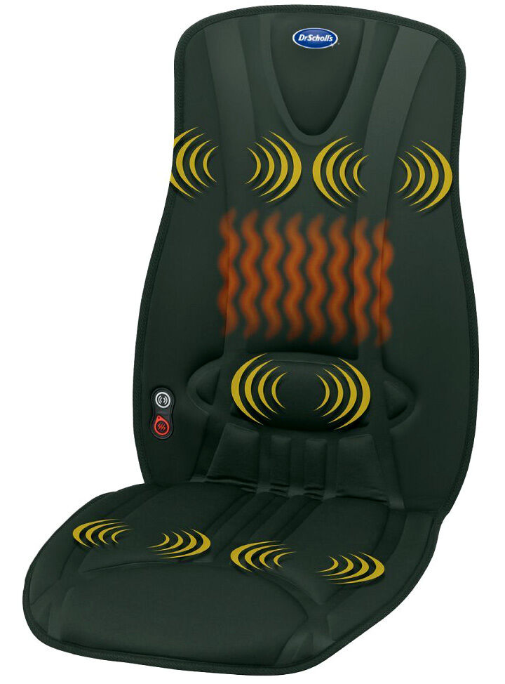 Electric Heating Pad Body Massager Chair Back Seat Cushion