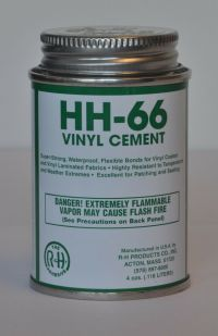 4oz HH 66 Vinyl Cement Adhesive Glue To Repair Tent or