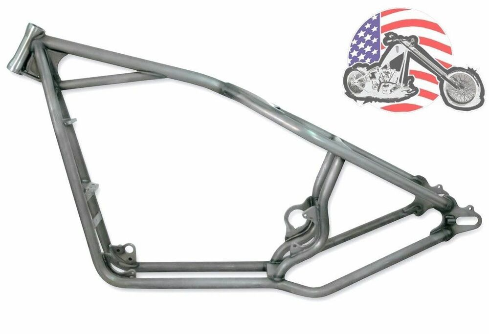 30/0/0 Kraft Tech Rigid Hardtail Frame 2004-2017 Harley