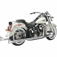 Cobra Chrome True Dual Fishtail Headers Exhaust Pipes 2012 ...
