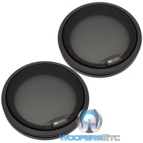 small resolution of details about mb quart 6 5 protective grills for component coaxial speakers germany made new
