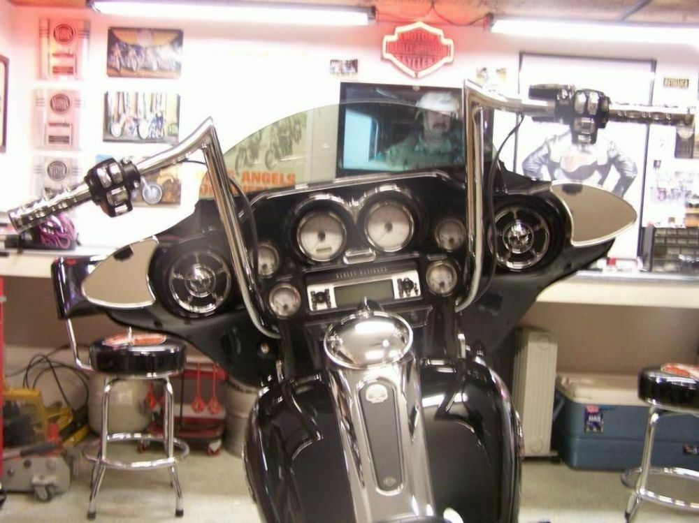 Bikers Choice Chrome 16 Prime Apes Apehangers Bars Harley Batwing Bagger Touring  eBay