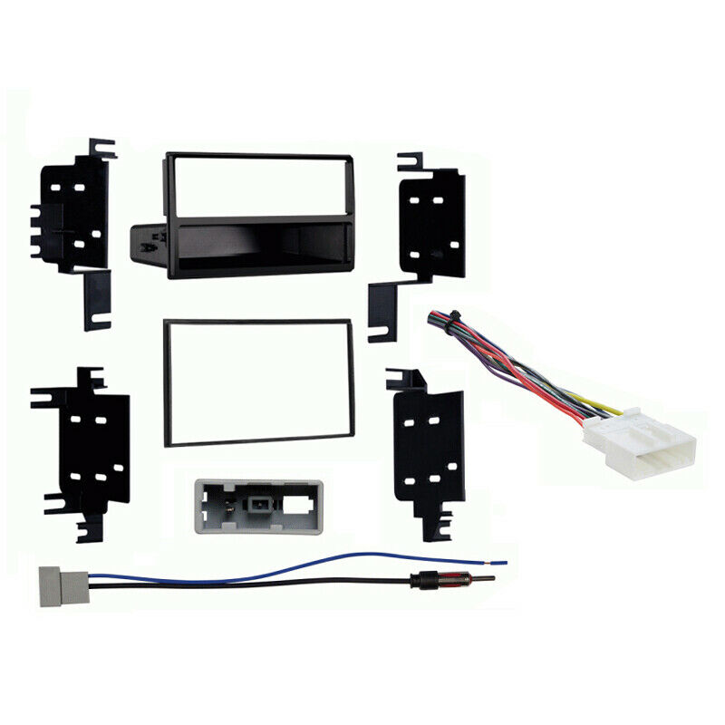 metra wiring harness toyota switch light diagram fits nissan versa 2012-2013 multi din stereo radio install dash kit | ebay