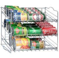 36 Can Rack Holder Organizer Storage Kitchen Shelf Food ...