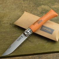 Opinel #7 French Made Beechwood Handle High Carbon Folding ...