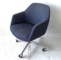 Mid Century Modern Steelcase Swivel Tilt Club Lounge ...