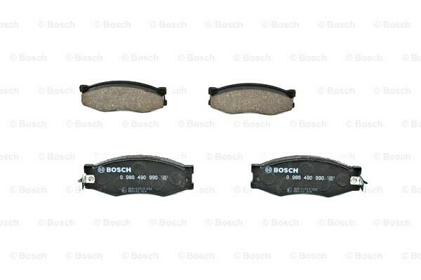 BOSCH Disc Brake Pads SET Front Rear Axle Fits NISSAN 300
