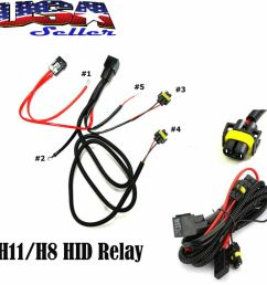 details about h11 880 relay wiring harness for hid conversion kit add on fog lights led drl [ 1000 x 1000 Pixel ]