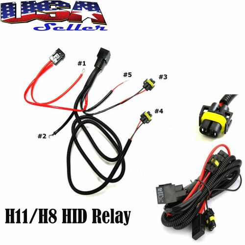 small resolution of details about h11 880 relay wiring harness for hid conversion kit add on fog lights led drl