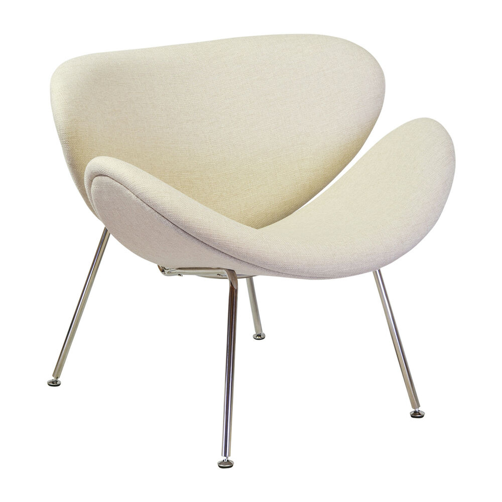orange slice chair height right paulin mid century modern replica iconic retro details about in beige