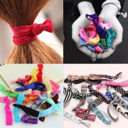 lots girls candy color elastic