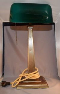 Emeralite Vintage Bankers Desk Lamp