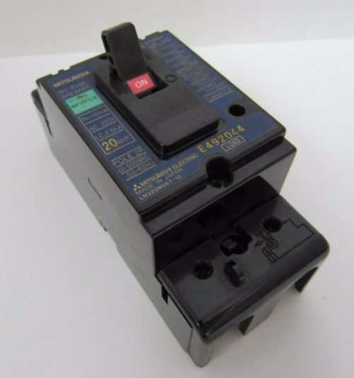 small resolution of details about mitsubishi nf30 cs 20 amp pole 2p no fuse circuit breaker 500vac 50 60hz